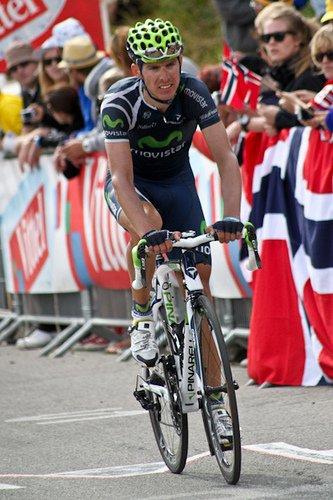 Rui Costa na trasie Tour de France 2011
