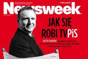 """""""Cycki do przodu"""" w najnowszym wydaniu tygodnika """"Newsweek""""."""