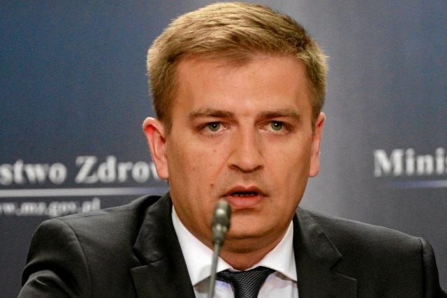 Minister Zdrowia Bartosz Arłukowicz.