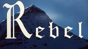 Ed Ruscha, REBEL, 2011 Acrylic on canvas, 20 in. x 24 in. Courtesy of the artist/ MOCA, Los Angeles.