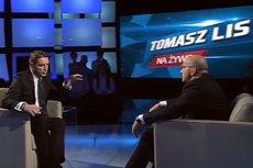 """Były premier Kazimierz Marcinkiewicz był gościem programu """"Tomasz Lis na żywo"""" na antenie TVP2."""