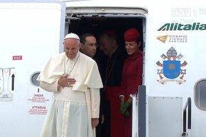 Papież Franciszek przybył do Krakowa