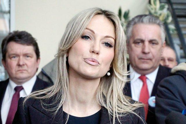 Magdalena Ogórek udzieliła pierwszego telewizyjnego wywiadu w tej kampanii wyborczej przed wyborami prezydenckimi.