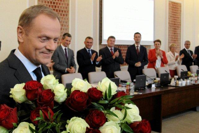 Gdy Tusk rozstawał się z funkcją premiera jego siły nikt nie kwestionował.