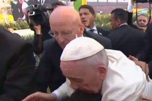 Nawet papież traci czasem cierpliwość.