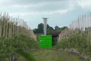 Działo antygradowe chroni niejedną plantację w Polsce.