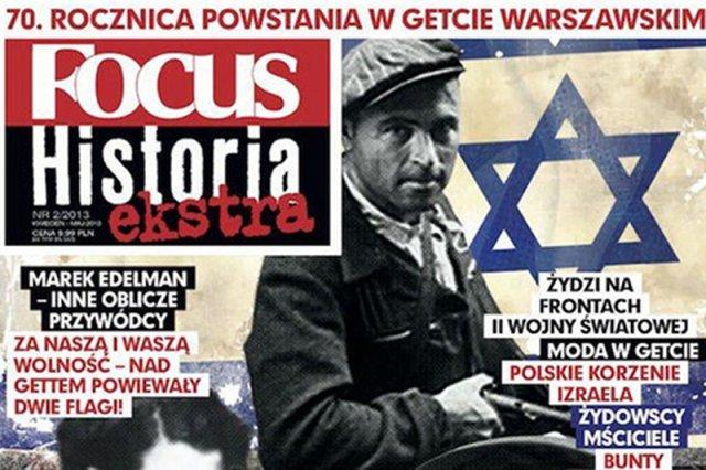 """W czasopiśmie """"Focus Historia ekstra"""" opublikowano wywiad z kontrowersyjnym prof. Krzysztofem Jasiewiczem, który twierdzi, że """"na Holokaust pracowały przez wieki całe pokolenia Żydów""""."""