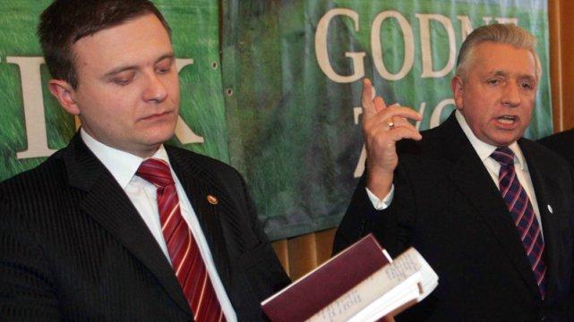 Mateusz Piskorski to były rzecznik Samoobrony