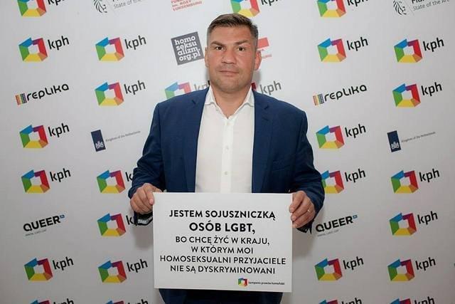 Dariusz Michalczewski otwarcie przyznaje, że wspiera środowiska LGBT