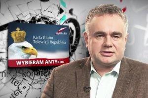 Reklama dostęp do stacji dla widzów TV Republika w internecie uderza w KOD.
