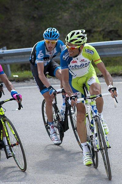 Ryder Hesjedal jeszcze w cieniu Ivana Basso.