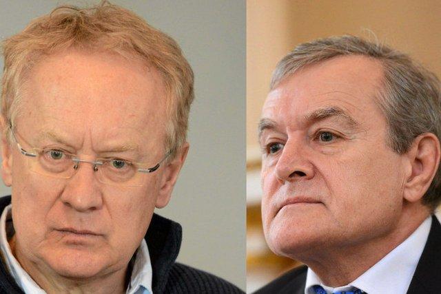 Obaj bracia Glińscy.
