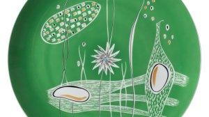 Patera dekoracyjna (lata 60 XX w., ZPS Karolina), fot. A. Podstawka