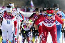 Justyna Kowalczyk zdobyła złoty medal na Igrzyskach Olimpijskich w Soczi.