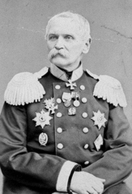 Stanisław Kierbedź - budowniczy pierwszego mostu żelaznego w Warszawie.
