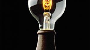 Żarówka zaprojektowana dla Edisona