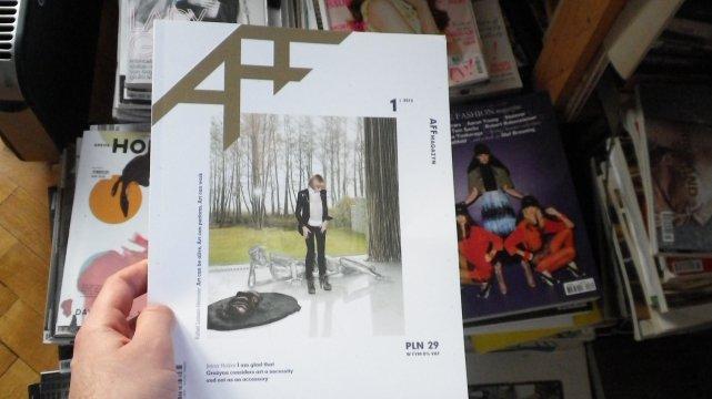 Stworzony podczas warsztatów Fashion Writting AFF Magazyn