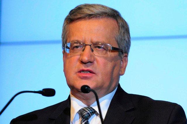 Prezydent Bronisław Komorowski odniósł się do opóźnień w zliczaniu wyników wyborów