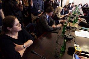 Krystyna Pawłowicz rozpętała karczemnąawanturęna posiedzeniu Komisji sprawiedliwości.