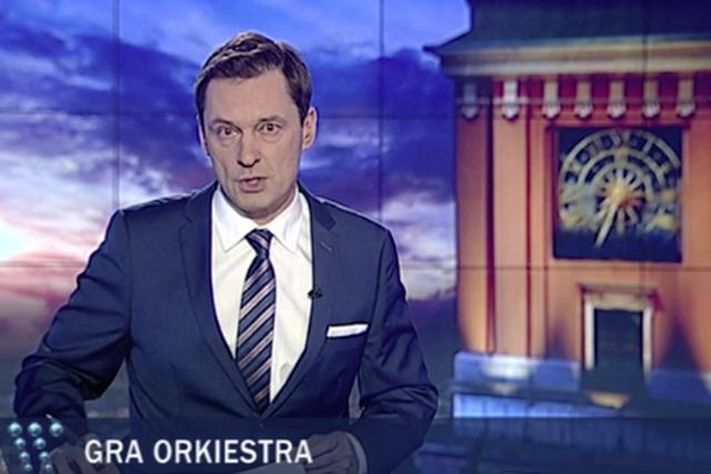Krzysztof Ziemiec nie zapomniał o WOŚP w dniu jej finału
