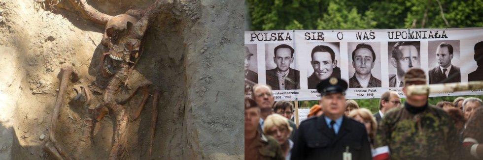 Podczas ekshumacji na tzw. Łączce wydobyto szczątki należące do prawie 200 ofiar komunizmu.