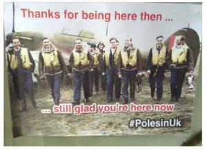 Brytyjczycy sami komentują w sieci wkład Polaków dla Wielkiej Brytanii.