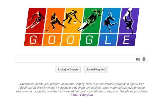 Co to jest Karta Olimpijska i co to ma wspólnego z Google Doodle? Chodzi o antygejowskie prawo w Rosji