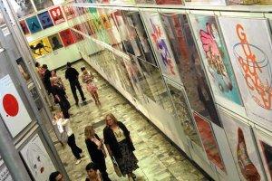 Muzeum Plakatu w Wilanowie. Tu oraz w innych miejscach zobaczymy niezłą sztukę całkowicie za darmo.
