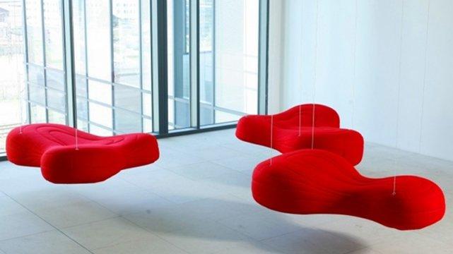 Siedziska Bouli zaprojektowane dla firmy Noti