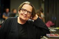 """Agnieszka Holland była gościem poniedziałkowego programu """"Tomasz Lis na żywo""""."""