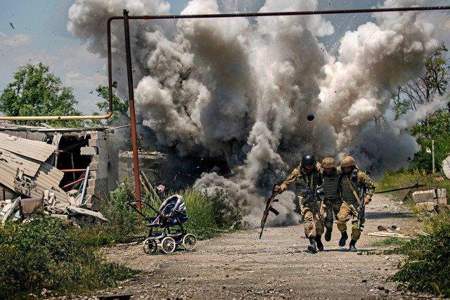 Znalezione obrazy dla zapytania donbas wojna
