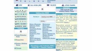 """Wirtualna Polska w 1998 roku. Portale spełniały w tamtym czasie rolę """"bramy do internetu"""", którą teraz często wypełniają serwisy społecznościowe"""