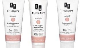 Emulsja do mycia ciała, Krem Kojąco-Regenerujący i Balsam do Ciała Atopia AA