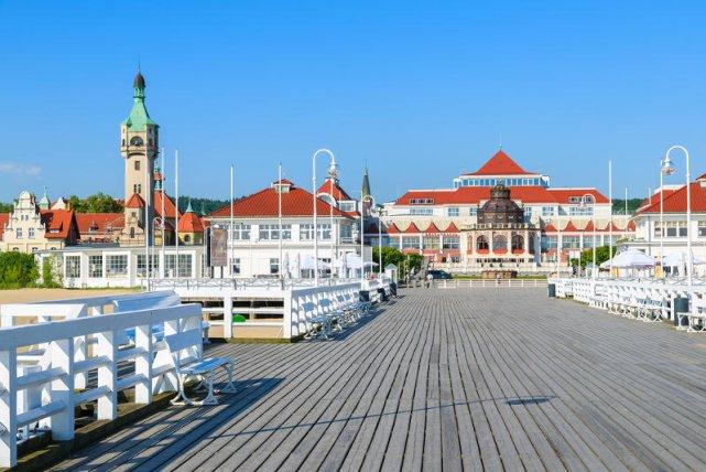 Molo w Sopocie to główna atrakcja kurortu.