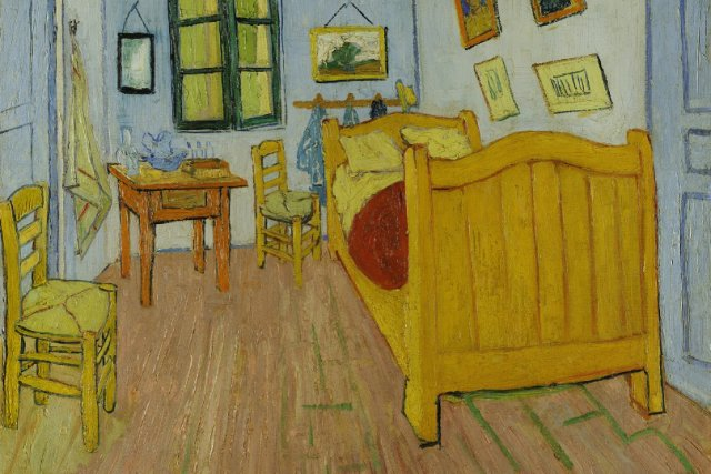 """The Bedroom"", Vincent Van Gogh, Muzeum Van Gogha w Amsterdamie"