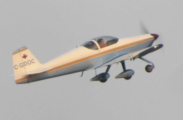 Start samolotu Vans RV-6A