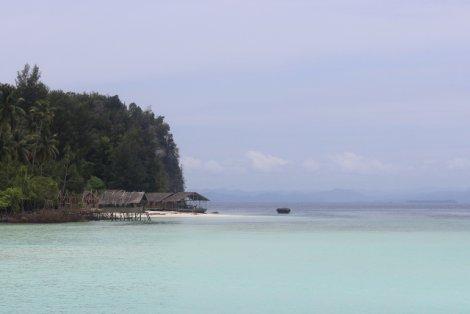 Królewskie krajobrazy Raja Ampat.