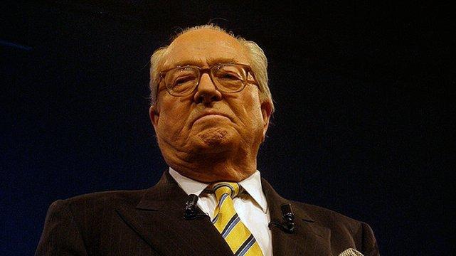 Jean-Marie Le Pen, ojciec Marine