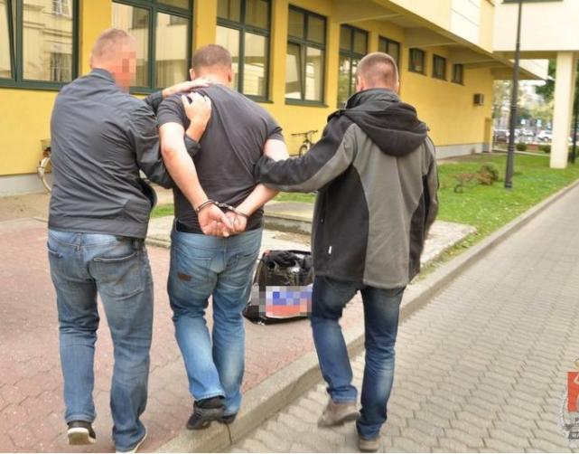 Jacek L., fałszywy prokurator wpadł w Warszawie.