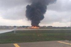 Metroliner rozbił się w pobliżu pasa startowego lotniska Luqa na Malcie