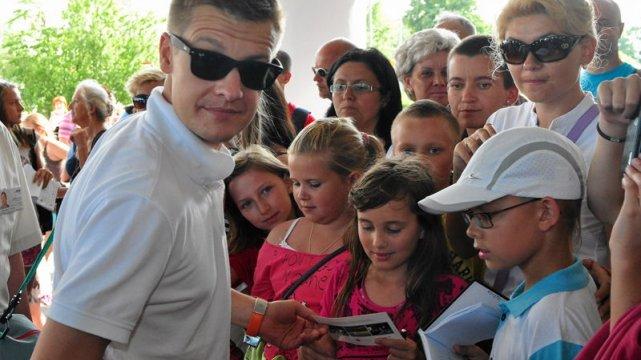 Rafał Mroczek błyszczy