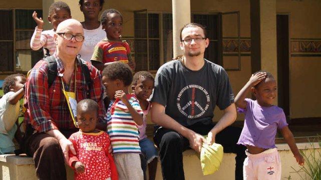 Kamil Cebulski w Afryce