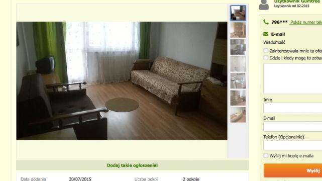 Studenci AWF-u w Białej Podlaskiej mogą wynająć pokój za około 350 złotych.