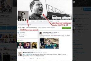 Rzecznik ONR, który organizuje marsz Powstania Warszawskiego, na swoim Facebooku promował ulubieńca Hitlera.