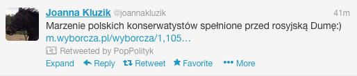 Komentarz Joanny Kluzik-Rostkowskiej