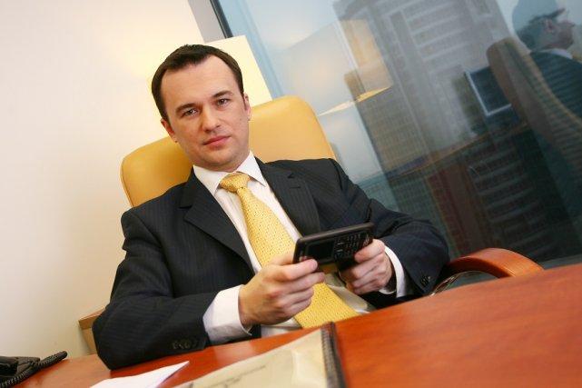 Jacek Gadzinowski w korporacji