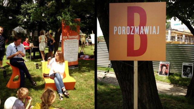 """Zdjęcia z rozmowy z Moniką Jaruzelską o jej książce autobiograficznej """"Towarzyszka Panienka"""""""