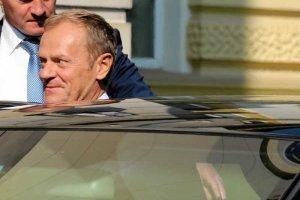 Donald Tusk na chwilę wrócił do polskiej polityki.