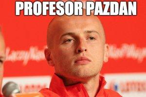 Michał Pazdan w meczu z Niemcami pokazał się z jak najlepszej strony.
