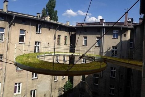 Wiszący ogród w Gliwicach, Walk-on, Wizualizacja